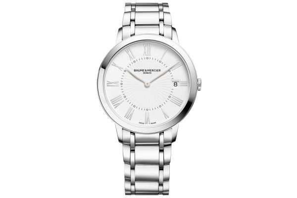 Baume & Mercier Classima 36.5mm Stainless Steel Womens Watch - 10261