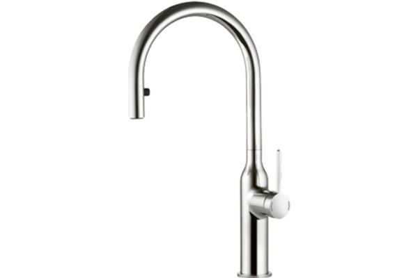 KWC SIN Chrome Single-Lever Mixer Kitchen Faucet - 10.261.102.000