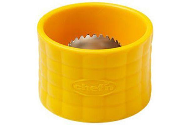 Large image of Chef'n Yellow Cob Corn Stripper - 102845017