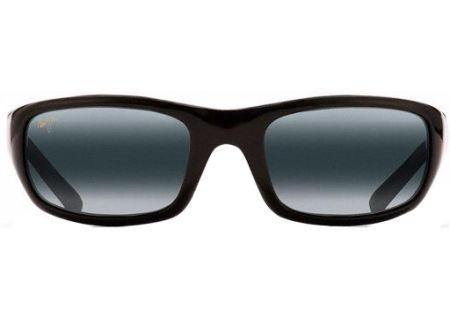 Maui Jim Stingray Gloss Black Unisex Sunglasses - 103-02