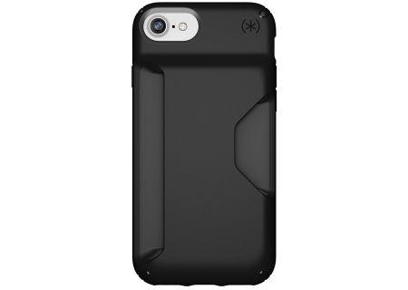 Speck Presidio Wallet Black iPhone 8 Case - 103120-1050