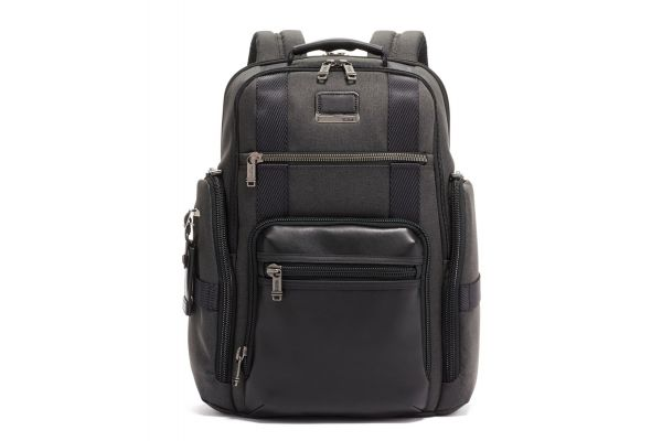 Large image of TUMI Alpha Bravo Sheppard Graphite Deluxe Brief Pack - 1033051374
