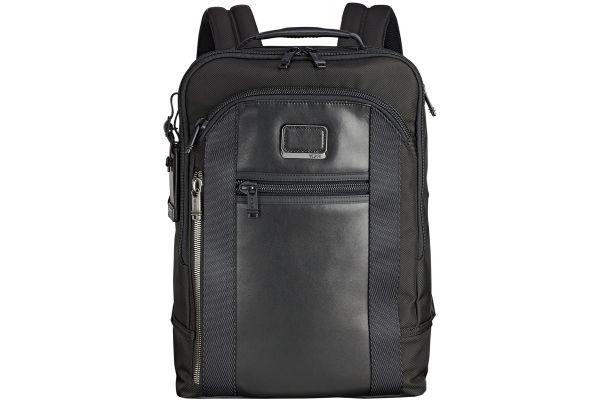 Large image of TUMI Alpha Bravo Davis Black Backpack - 103320-1041