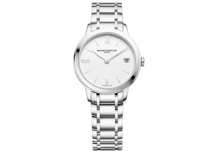 Baume & Mercier Classima 31mm Stainless Steel Womens Watch - 10335
