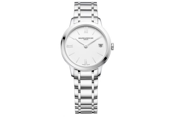 Large image of Baume & Mercier Classima 31mm Stainless Steel Womens Watch - 10335