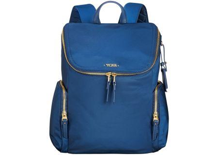 Tumi Voyageur Ocean Blue Lexa Zip Flap Backpack - 1034131621
