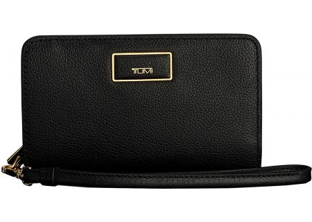 Tumi Belden French Black Leather Purse - 1034451041