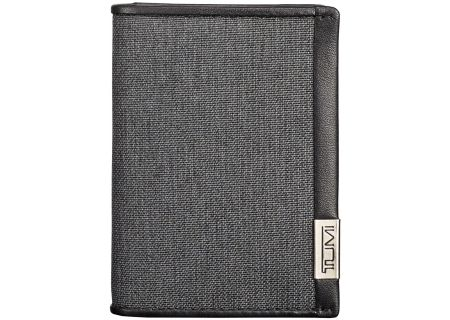 Tumi Alpha ID Lock Anthracite Gusseted Card Case - 1035116618