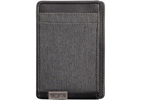 Tumi Alpha ID Lock Anthracite Money Clip Card Case - 1035146618