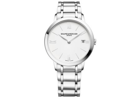 Baume & Mercier Classima 36.5mm Stainless Steel Womens Watch - 10356