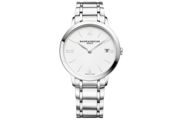 Large image of Baume & Mercier Classima 36.5mm Stainless Steel Womens Watch - 10356