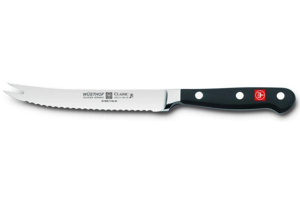 """Large image of Wusthof Classic 5"""" Tomato Knife - 1040101914"""