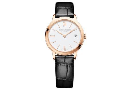 Baume & Mercier 31mm Classima White Dial Womens Watch - 10440