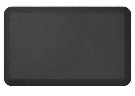 NewLife By GelPro Leather Grain Jet 20x32 Designer Comfort Kitchen Mat - 106-16-2032-1