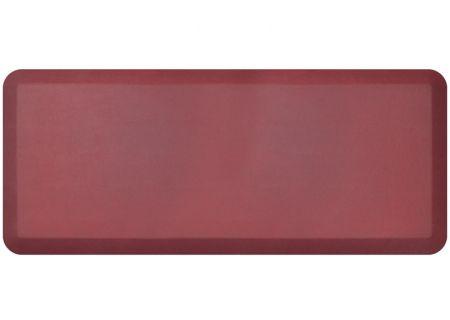 NewLife By GelPro Leather Grain Cranberry 20x48 Designer Comfort Kitchen Mat - 106-16-2048-8