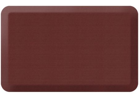 GelPro NewLife Designer Comfort 20x32 Grasscloth Crimson Kitchen Mat - 106-23-2032-2
