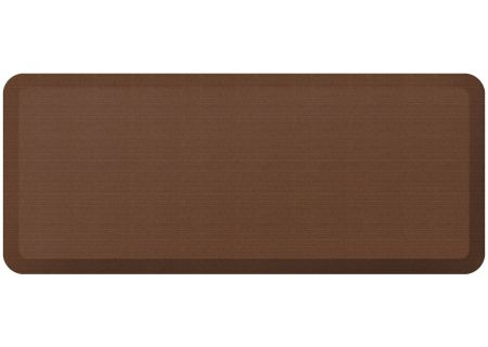 GelPro NewLife Designer Comfort 20x48 Grasscloth Java Kitchen Mat - 106-23-2048-1