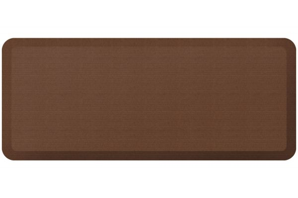 GelPro NewLife Designer Comfort 20x48 Grasscloth Java Kitchen Mat - 106-23-2048-1