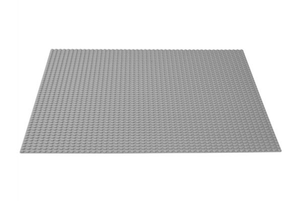 Large image of LEGO Classic Gray Baseplate - 10701