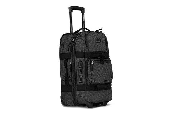 Large image of Ogio Layover Black Pindot Travel Bag - 108227.317