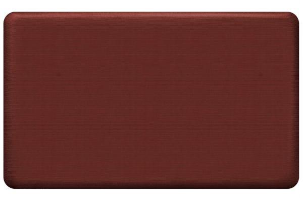 GelPro NewLife Designer Comfort 18x30 Grasscloth Crimson Kitchen Mat - 108-23-1830-2