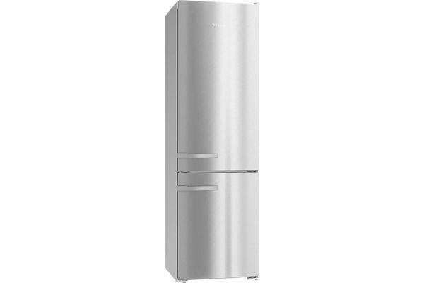 "Large image of Miele 24"" Stainless Steel Freestanding Fridge-Freezer - 10870510"
