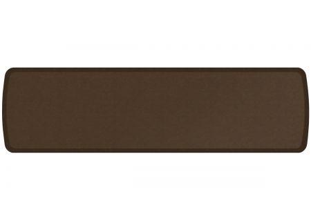 GelPro Elite Vintage Leather Rustic Brown 20x72 Anti-Fatigue Mat - 109-28-2072-1