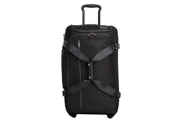 Large image of Tumi Merge Black Contrast Wheeled Duffel Packing Case - 1096107230