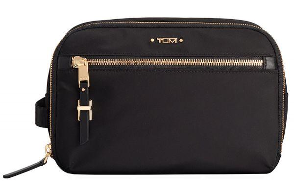 Tumi Voyageur Black Erie Double Zip Cosmetic - 1100041041