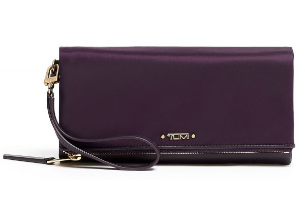 Large image of TUMI Voyageur Blackberry Travel Wallet - 0196380BBY