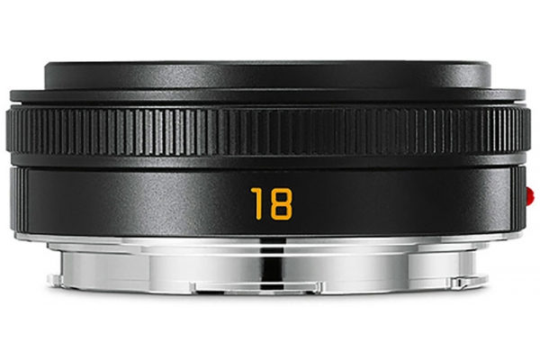Large image of Leica Black Elmarit-TL 18mm f/2.8 ASPH Lens - 11088