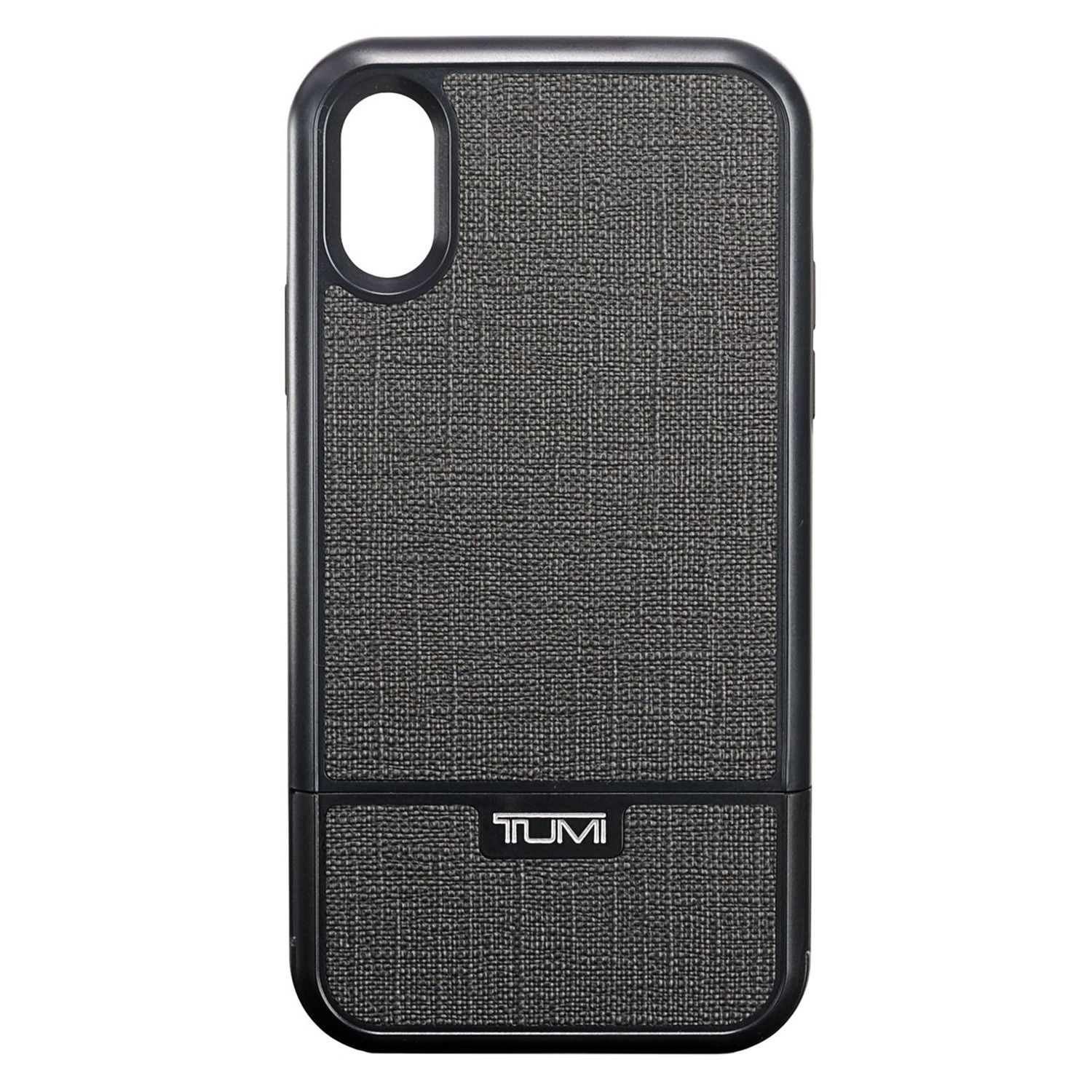 outlet store dc137 db7a6 Tumi Kickstand Case Pewter iPhone XR Case