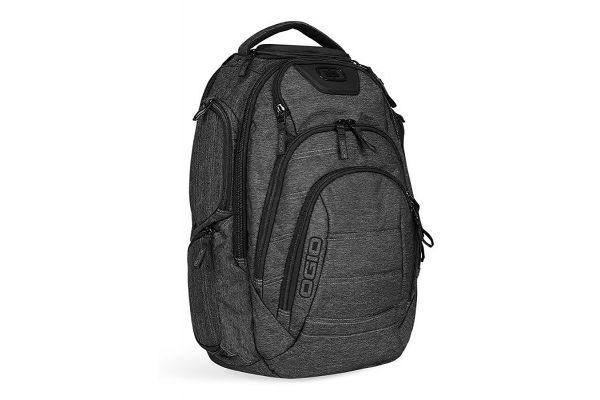 Large image of Ogio Renegade RSS Dark Static Grey Laptop Backpack - 111071.437