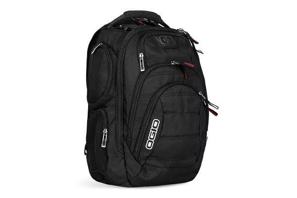 Large image of Ogio Gambit Black Laptop Backpack - 111072.03