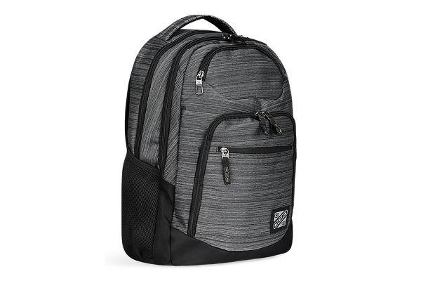 Large image of Ogio Tribune Noise Grey Laptop Backpack - 111078.757