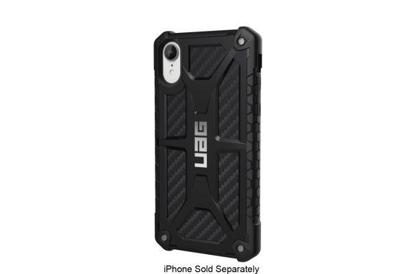 Urban Armor Gear Monarch Series Carbon Fiber iPhone XR Case - 111091114242