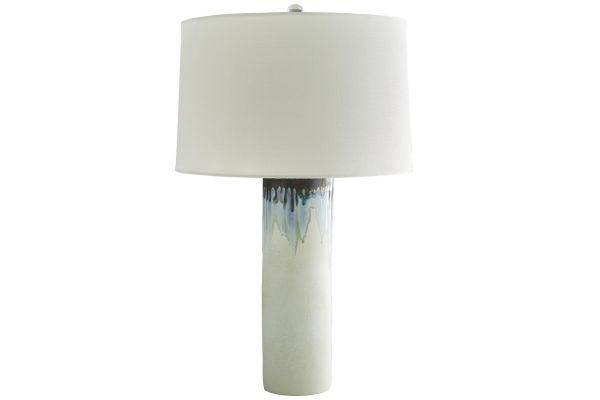 Arteriors Blue And White Laurel Lamp - 11195-177