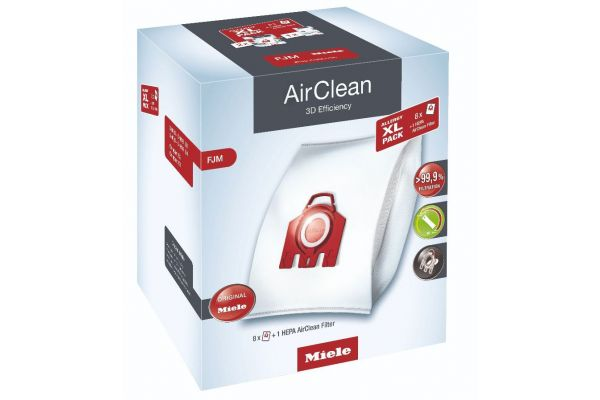 Large image of Miele XL Allergy Pack AirClean 3D Efficiency Dustbags Type FJM - 11214240