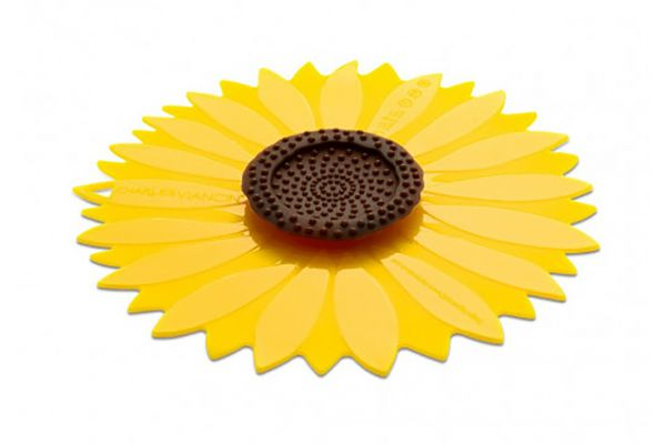 """Charles Viancin 11"""" Sunflower Air-Tight Silicone Lid - 1121C"""