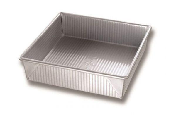 """Large image of USA PAN 9"""" Square Cake Pan - 1130BW"""