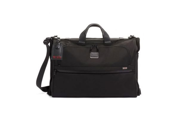 Large image of TUMI Alpha 3 Black Garment Bag Tri-Fold Carry-On - 1171481041