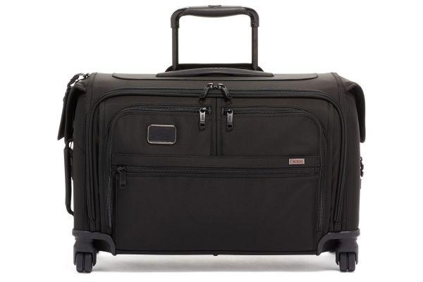 Large image of TUMI Alpha 3 Black Garment 4 Wheeled Carry-On - 1171501041