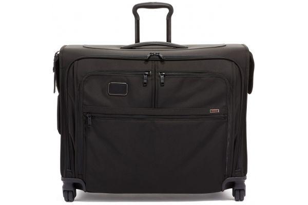 Large image of TUMI Alpha 3 Black Medium Trip 4 Wheeled Garment Bag - 1171511041