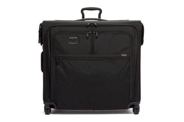Large image of TUMI Alpha 3 Black Extended Trip 4 Wheeled Garment Bag - 1171521041