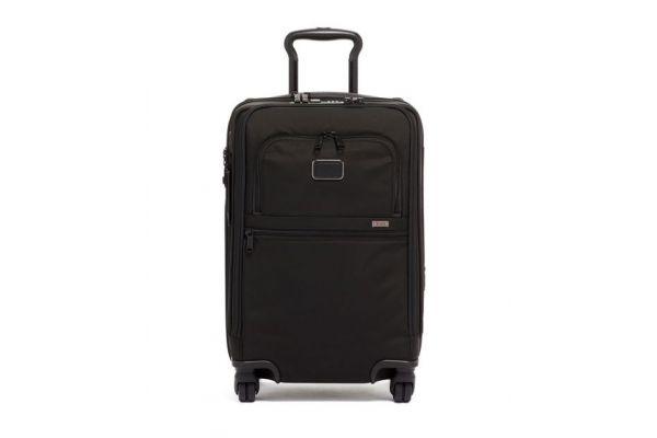 Tumi Alpha 3 Black International Office 4 Wheeled Carry-On - 1171551041