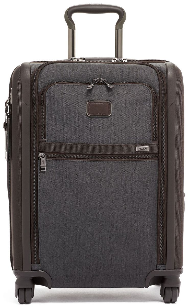 Tumi Alpha 3 Anthracite Continental Dual Access 4 Wheeled Carry-On