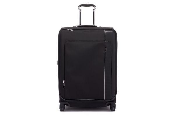 Large image of TUMI Arrive Black Short Trip Dual Access 4 Wheeled Packing Case - 1171791041