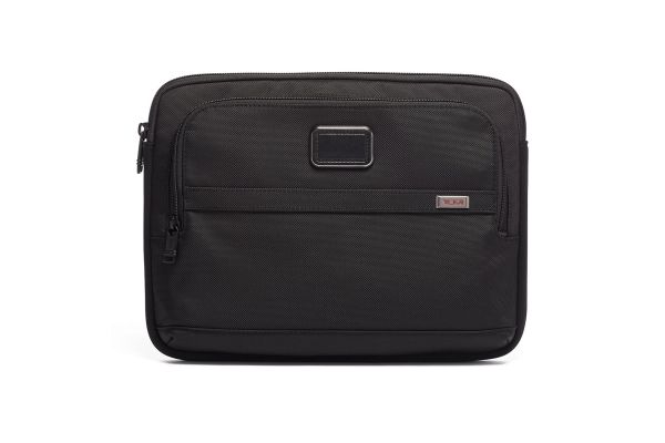 Large image of Tumi Alpha 3 Black Medium Laptop Cover - 117251-1041