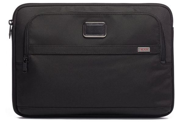 Large image of TUMI Alpha 3 Black Large Laptop Cover - 117252-1041