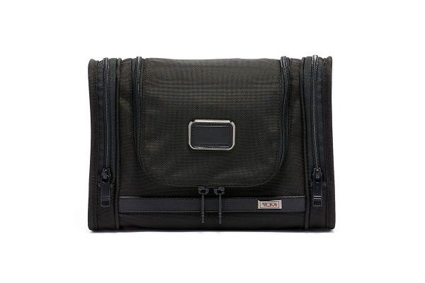 Large image of TUMI Alpha 3 Black Hanging Travel Kit - 1172541041